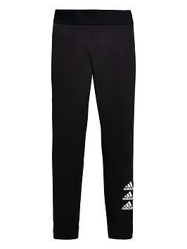 adidas-junior-girls-must-haves-badge-of-sport-tights-black