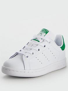 adidas-originals-stan-smith-childrens-trainers-whitegreen