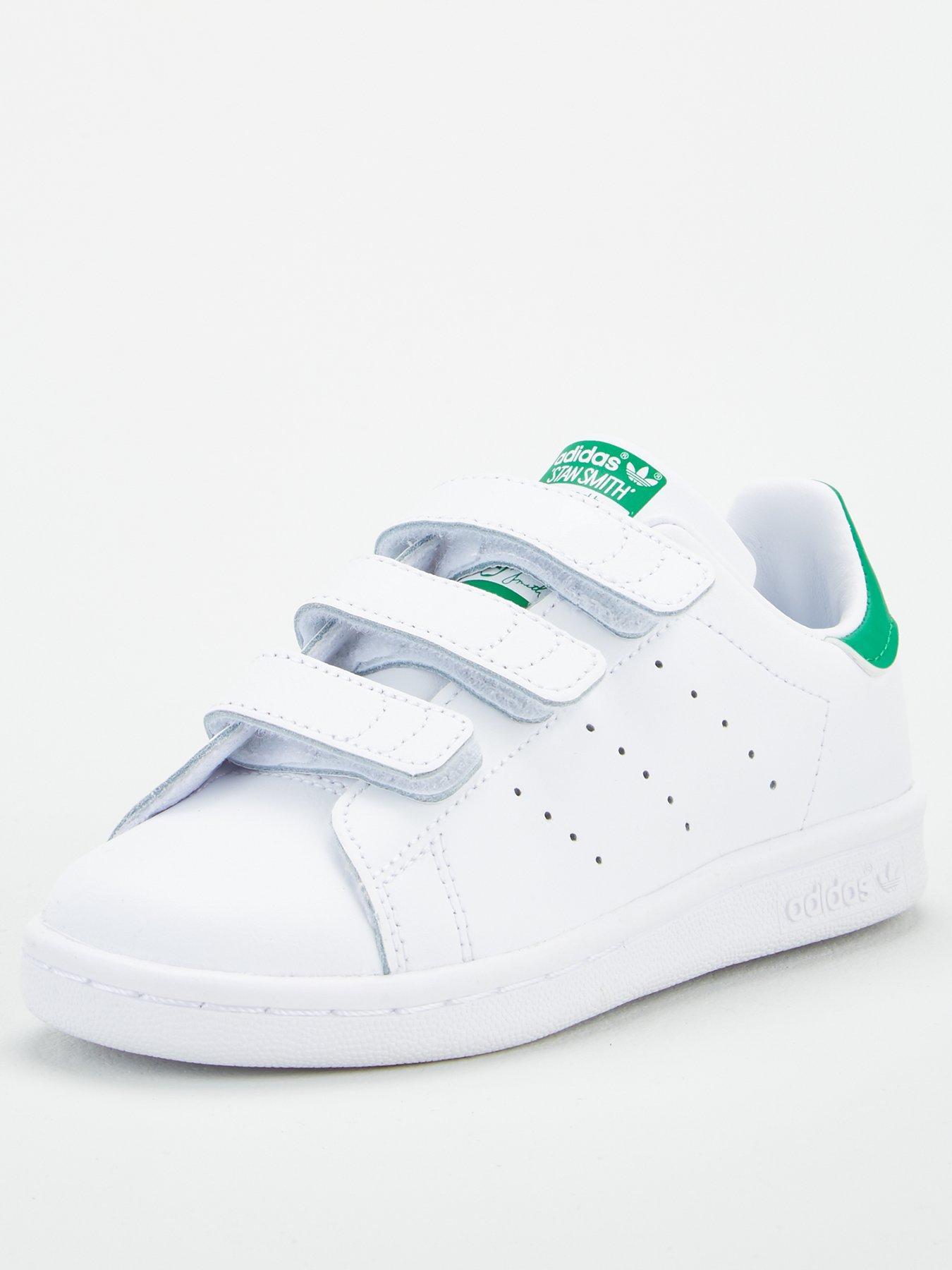 Boys Infants Baby Kids Adidas Stan SmithTrainers RRP £49
