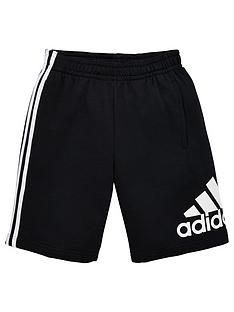 adidas-boys-badge-of-sport-shorts-black