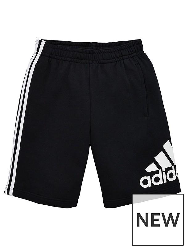 short 3 4 adidas schwarz