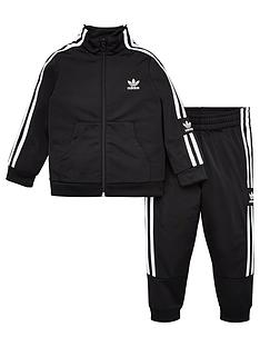 adidas-originals-childrens-lock-up-tracksuit-black