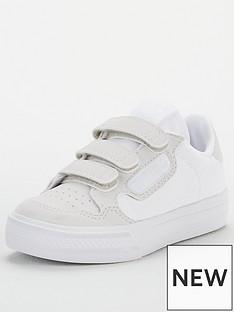 adidas-originals-continental-vulc-childrens-trainers-white
