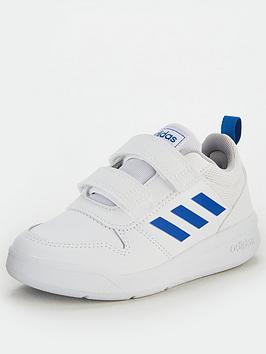 adidas-tensaurus-childrens-trainers-whiteblue