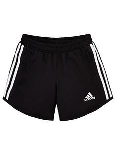 adidas-girls-training-shorts-black