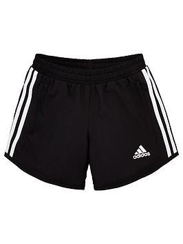 adidas-girls-training-shorts-black
