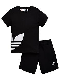 adidas-originals-bg-trefoil-shorts-set-black
