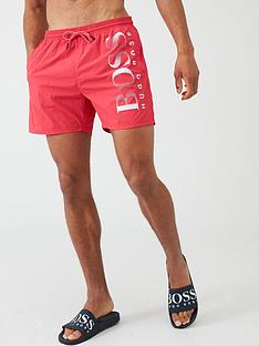 boss-octopus-swim-shorts-red