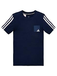 adidas-childrens-logo-short-sleeve-t-shirt-navy