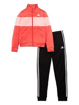 adidas-girls-tiberio-tracksuit-pink
