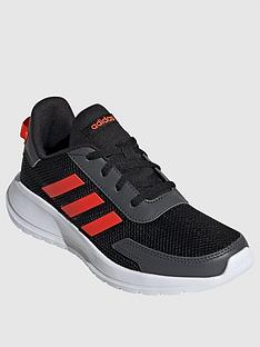 adidas-tensaur-run-junior-trainers-black-orange