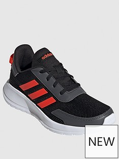 adidas-tensaur-run-junior-trainers-black-orange