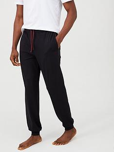 boss-lightweight-cuffed-lounge-pants-black