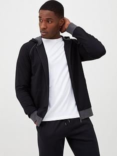 boss-lightweight-hooded-lounge-top-black