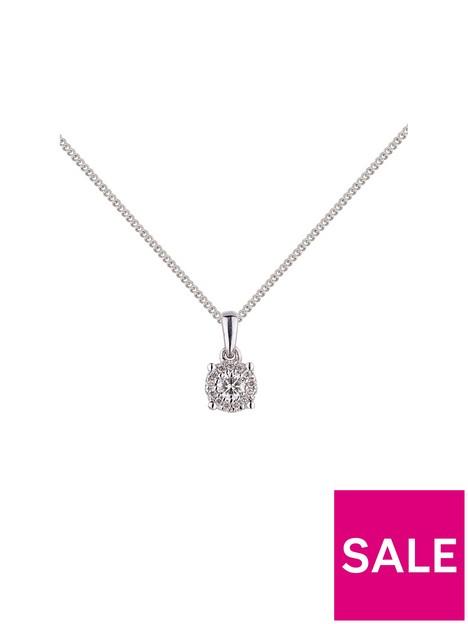 love-diamond-9ct-white-gold-12pt-diamond-solitaire-pendant-necklace