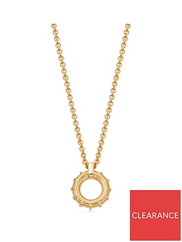 links-of-london-rose-gold-vermeil-small-hoop-necklace