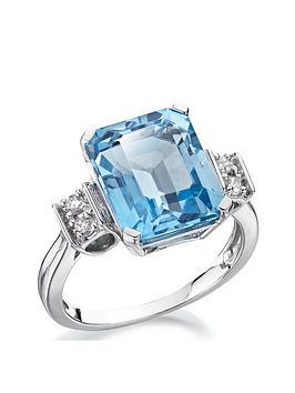 love-gem-9ct-white-gold-blue-topaz-emerald-cut-ring