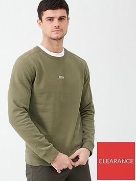 boss-weevo-crew-neck-sweatshirt-khaki