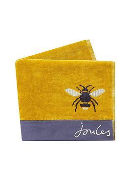 joules-botanical-bee-bath-towel