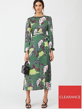 v-by-very-printed-sheen-midi-dress-floral