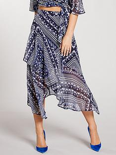 kate-wright-high-waist-asymmetric-midi-skirt-print