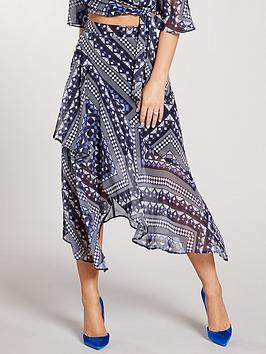 kate-wright-high-waist-asymmetric-midi-skirt-print