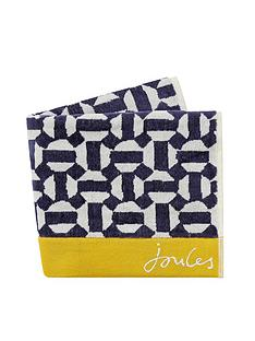 joules-honeycomb-geo-hand-towel