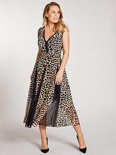 kate-wright-panelled-print-midi-dress-animal-print