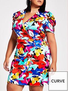 ri-plus-floral-wrap-mini-dress--floral