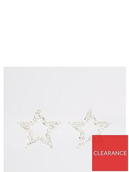 river-island-river-island-star-diamante-earring-silver