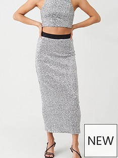 v-by-very-sequin-midaxi-co-ord-skirt-silver