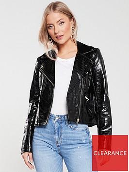 river-island-river-island-croc-faux-leather-biker-jacket-black