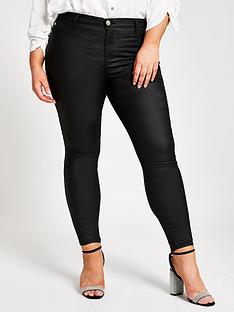ri-plus-ri-plus-mid-rise-molly-coated-jeggings-black