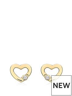 love-gold-9ct-gold-cubic-zirconia-open-heart-stud-earrings