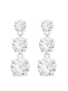 the-love-silver-collection-sterling-silver-cubic-zircoina-graduated-triple-drop-stud-earrings