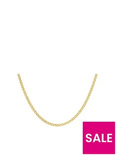 love-gold-9ct-gold-hollow-double-link-curb-chain-necklace