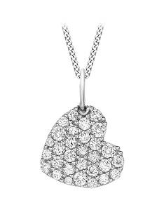love-gold-9ct-white-gold-cubic-zirconia-pave-heart-pendant-necklace