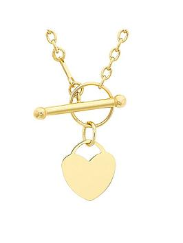 love-gold-9ct-gold-heart-t-bar-necklace