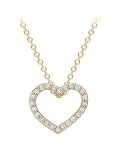 love-gold-9ct-gold-cubic-zirconia-heart-slider-pendant-necklace