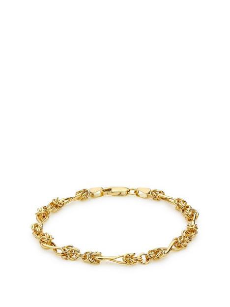 love-gold-9ct-gold-twist-curb-bracelet