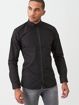hugo-enrique-long-sleeve-shirt-black