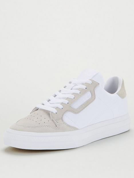 adidas-originals-continental-vulc-canvas-white