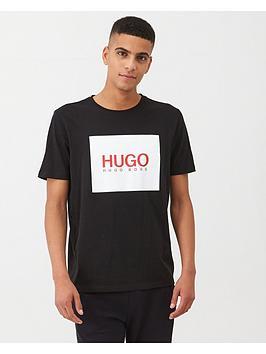 hugo-dolive201-square-logo-t-shirt-black