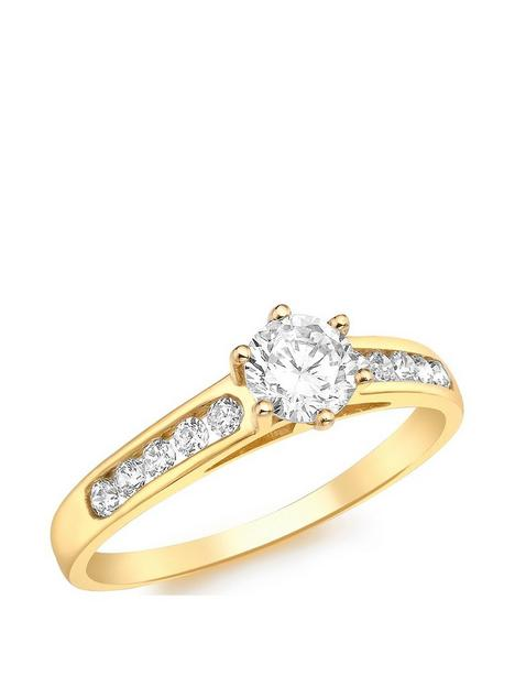love-gold-9ct-gold-cubic-zirconia-solitaire-ring-with-set-shoulders