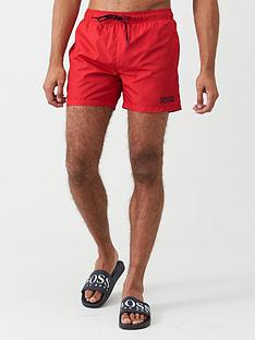 hugo-haiti-swimshorts-red