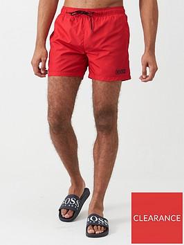 hugo-haiti-swimshorts-red