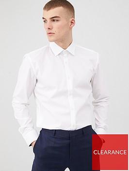 hugo-koey-long-sleeve-slim-fit-shirt-white