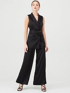 v-by-very-satin-sleeveless-longline-blazer-black