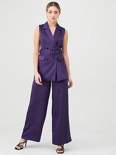 v-by-very-satin-sleeveless-longline-blazer-purple
