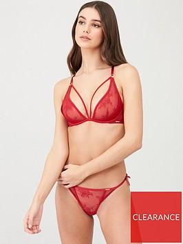 boux-avenue-amina-plunge-bra-red